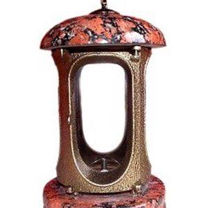 Картинка лампады из Капустянского камня