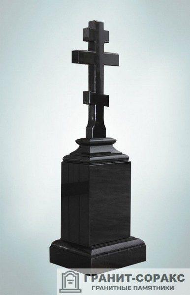 Крест на монументе из гранита №10