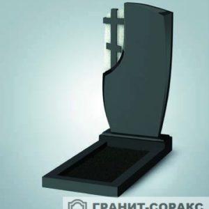 Крест на монументе из гранита №11