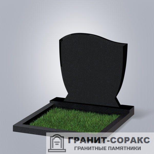 Гранитный горизонтальный мемориал. Вариант №12