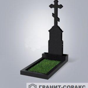 Крест на монументе из гранита №14