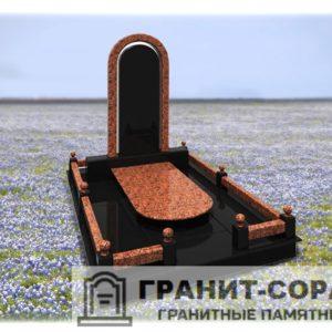 Мемориал из гранита на кладбище №19