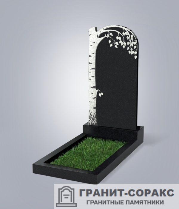 Памятники из гранита вертикальные. Вариант №22