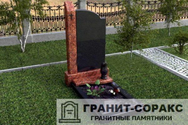 Мемориал из гранита на кладбище №23