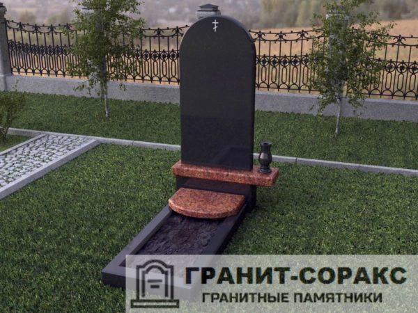 Мемориал из гранита на кладбище №24
