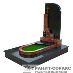 Мемориал из гранита на кладбище №26