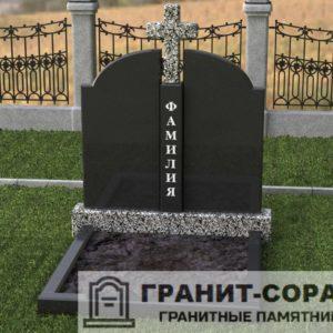 Мемориал из гранита на кладбище №27