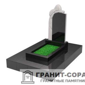 Памятники из гранита вертикальные. Вариант №28