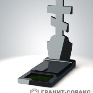 Крест на монументе из гранита №9