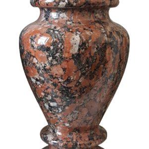 Красивая ваза из лучшего Капустянского гранитного камня