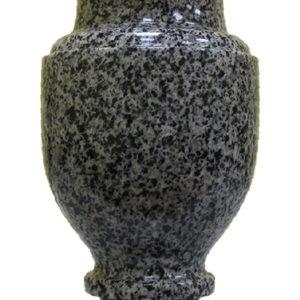 Ваза из серого Покостовского камня