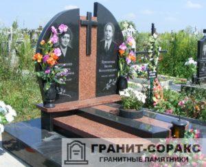 Комплексы на кладбище из гранита №7