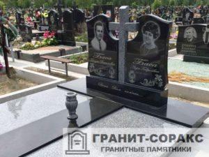 Комплексы на кладбище из гранита №11