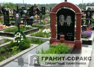 Надгробие с аркой фото