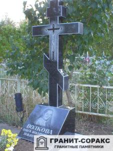 Заказать памятник крест - Цена и фото