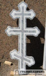 Памятник крест из гранита №24