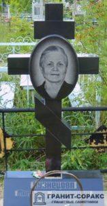 Памятник крест из гранита №4