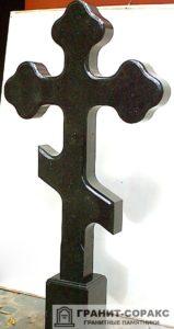Памятник крест из гранита №6