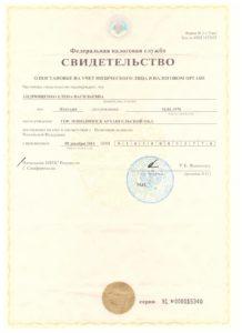 ИП Андрющенко - ИНН