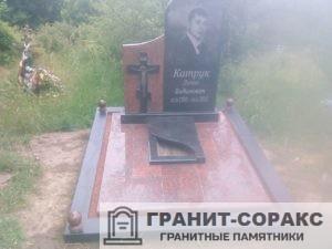 Мемориал из разных видов гранита и мрамора №1