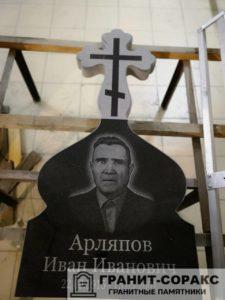 Памятник крест из гранита №29
