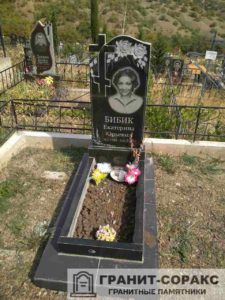 Фото установленных надгробий, №6