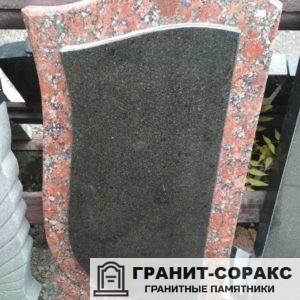 Мемориал из разных видов гранита и мрамора №3