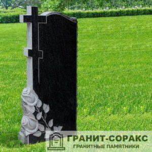 Крест на монументе из гранита №18