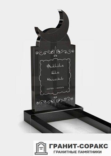 Фотография гранитного мусульманского памятника, Вар. 6