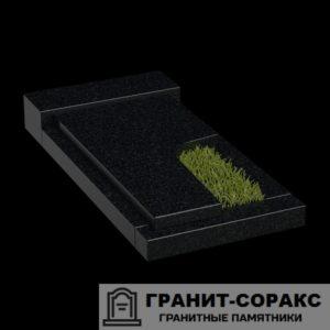 Фото гранитной надгробной плиты для надгробия. №1