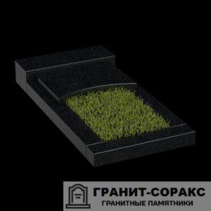 Фото гранитной надгробной плиты для надгробия. №2