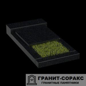 Фото гранитной надгробной плиты для надгробия. №3