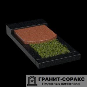 Фото гранитной надгробной плиты для надгробия. №5