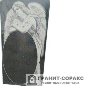 Мемориал из гранита с ангелом. Макет №13