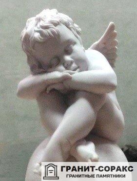 Фото №2. Скульптура-аксессуар. Ангел для обелиска.