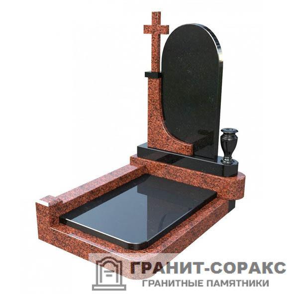 Фото №1. Памятник из разных видов камня. Вар. №1.
